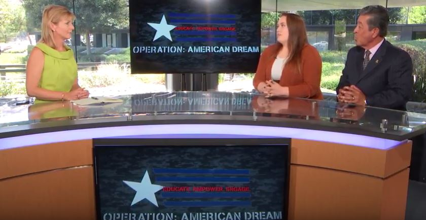 Operation American Dream September 29, 2016 with Eve Nasby & Daniel Lehman