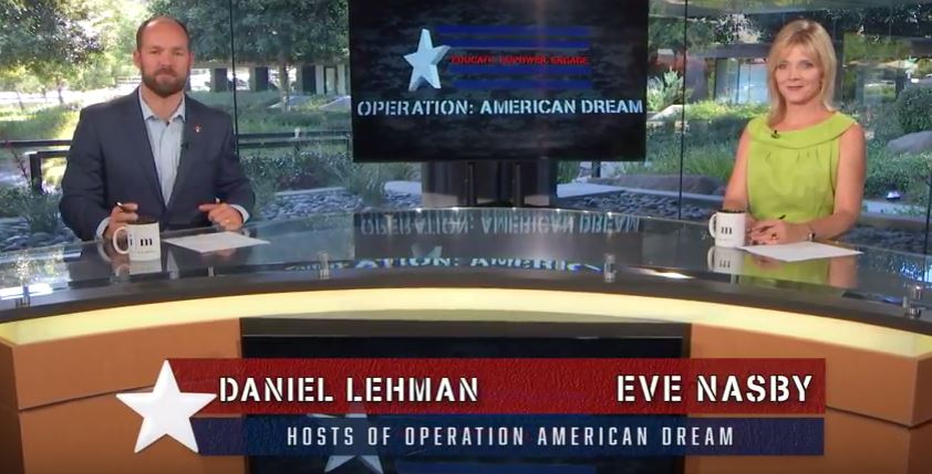 Operation American Dream November 4, 2016 with Eve Nasby & Daniel Lehman