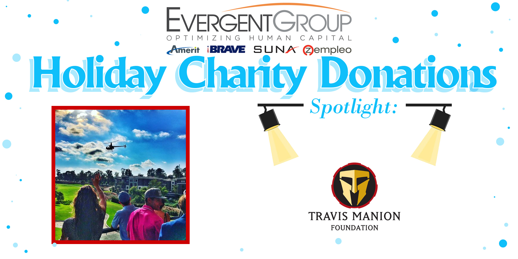 Holiday Chairty Donation Travis Manion